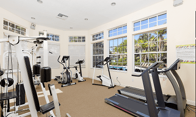 Fitness Weight Room, Villas Of Juno, 1