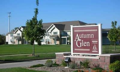 Community Signage, Autumn Glen Apartment Homes, 1