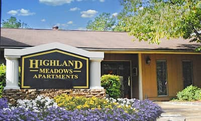 Community Signage, Highland Meadows, 0