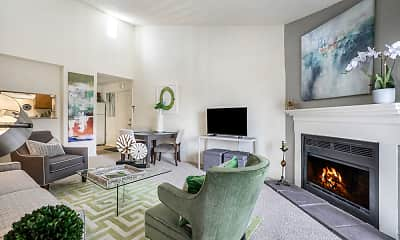 Living Room, Sawmill Creek Apartments, 1