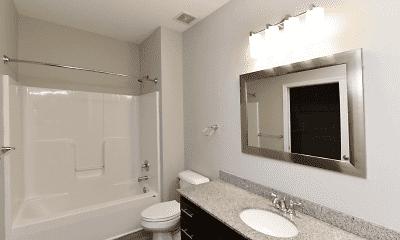 Bathroom, The Woods Apartments, 2