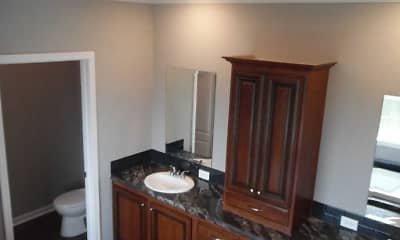 Bathroom, Woodlands at Church Lake, 2