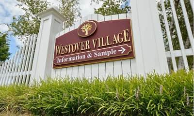 Community Signage, Westover Village Apartments, 0