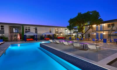Pool, Pearl Apartments, 0