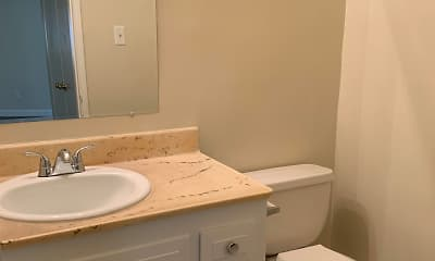Bathroom, Gardenview Apartments, 2