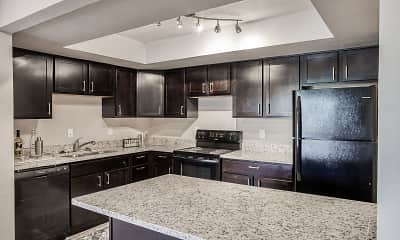 Kitchen, Edgewater Apartments, 1