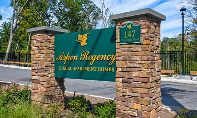 Community Signage, Aspen Regency NEW CONSTRUCTION, 2