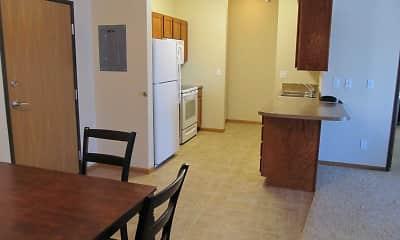Kitchen, Bison Crossing, 1