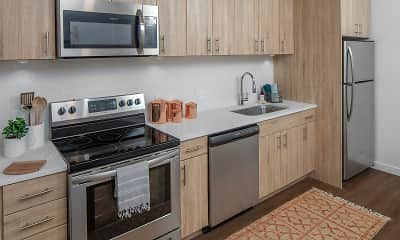 Kitchen, Northpointe Apartments, 1