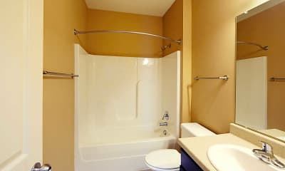 Bathroom, Brook Creek Crossings, 2