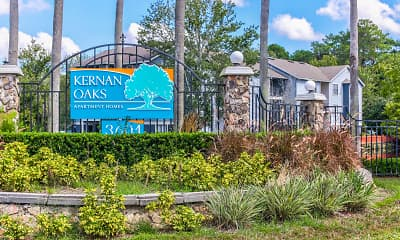 Community Signage, Kernan Oaks Apartments, 2
