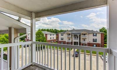 Patio / Deck, Dillon Trace Apartments, 2