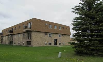 Building, Lawndale Apartments, 2