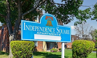 Community Signage, Independence Square Apartments, 2