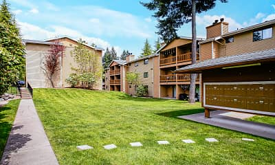 Courtyard, Chambers Creek Estates, 0