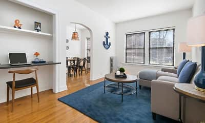 Living Room, 634 W. Cornelia, 0