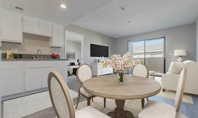 Dining Room, The Orchards Senior 55+, 1