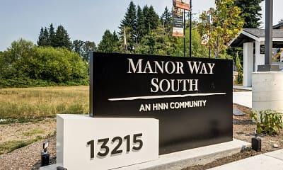 Community Signage, Manor Way, 0