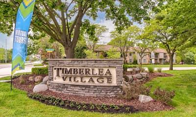 Community Signage, Timberlea Village, 2