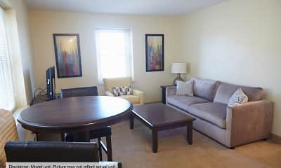 Living Room, Shoreland Manor Apartments, 0