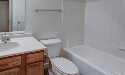 Bathroom, College Park Apartments, 2