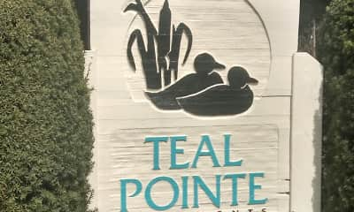 Community Signage, Teal Pointe Apartments, 0