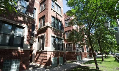 Building, 5452-5466 S. Ellis Avenue, 1