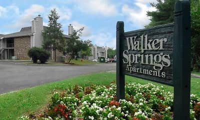 Community Signage, Walker Springs, 0