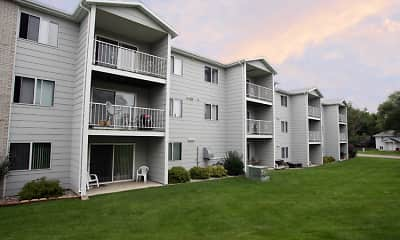 Building, Prairie Winds Apartments, 0