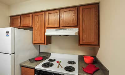 Kitchen, Market Square III- Senior Housing, 1