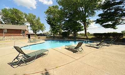 Pool, Reserve at South Pointe, 1