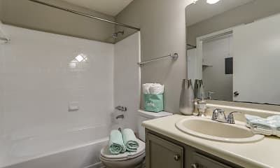 Bathroom, Sandalwood, 2