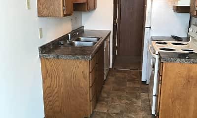 Kitchen, Campus Edge Apartments, 0