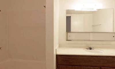 Bathroom, City Gardens Apartments, 2