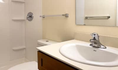 Bathroom, Abbey Ridge Apartment Homes, 2