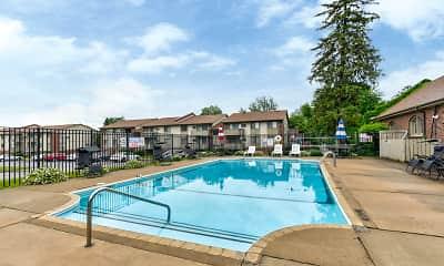 Pool, Waterview Estates, 1