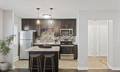 Kitchen, Minikahda Court Apartments, 1