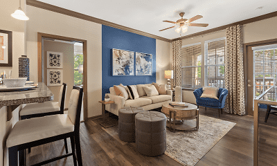 Living Room, Ridge At Chenal Valley, 0