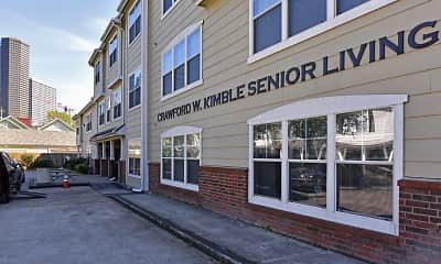 Building, Kimble Senior Housing, 2