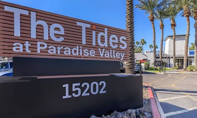 Community Signage, The Tides at Paradise Valley, 2