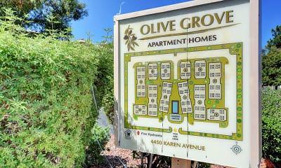 Community Signage, Olive Grove, 2