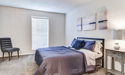 Bedroom, Lakeview Apartment Homes, 2