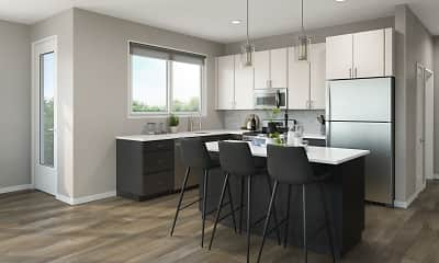 Kitchen, 202 Park, 0