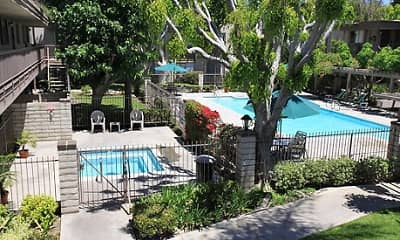 Pool, Sutter's Mill Apartments, 0