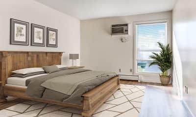 Bedroom, Powdermill Village Apartments, 0