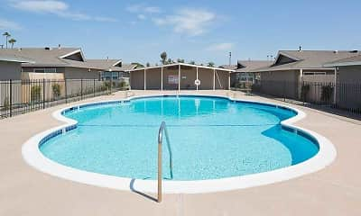 Pool, Normandy Park Apartments, 0