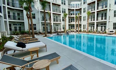 Pool, The Avalon at James Island, 2