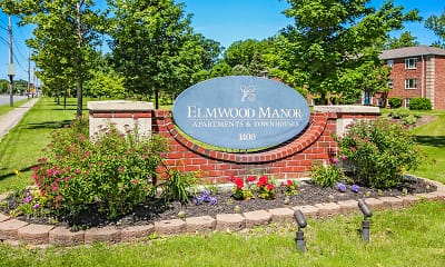 Community Signage, Elmwood Manor Apartments, 2