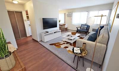 Living Room, L7 Flats, 0