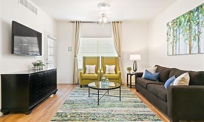 Living Room, Aldara Apartments, 1